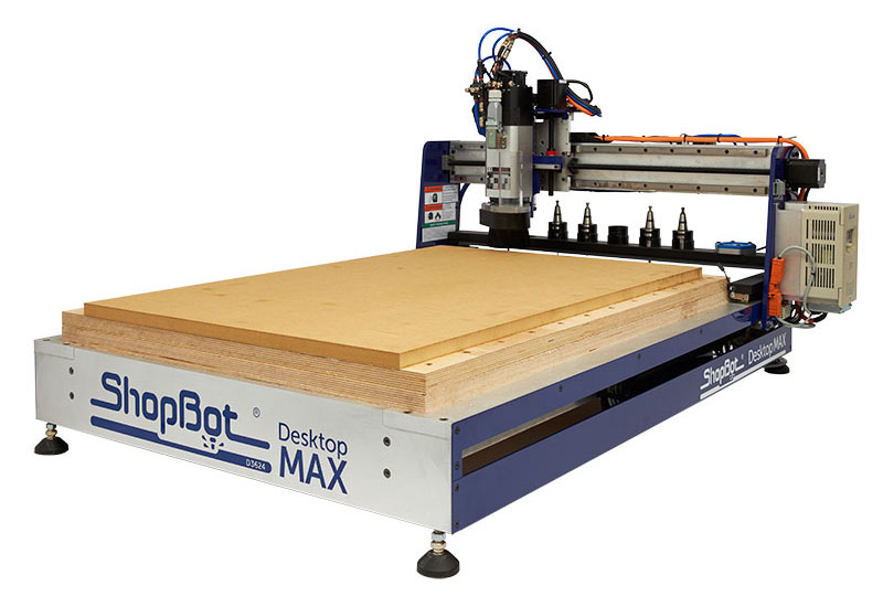 Shopbot Desktop MAX ATC with Universal Holddown